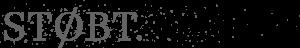 STØBT. Logo